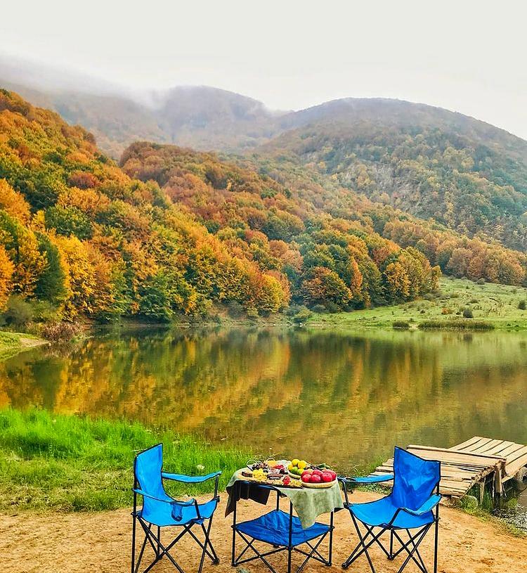 عکس دریاچه ویستان بره سر