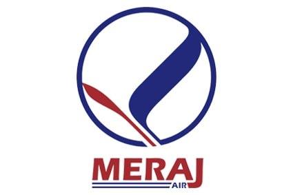 لوگوی شرکت هواپیمایی معراج