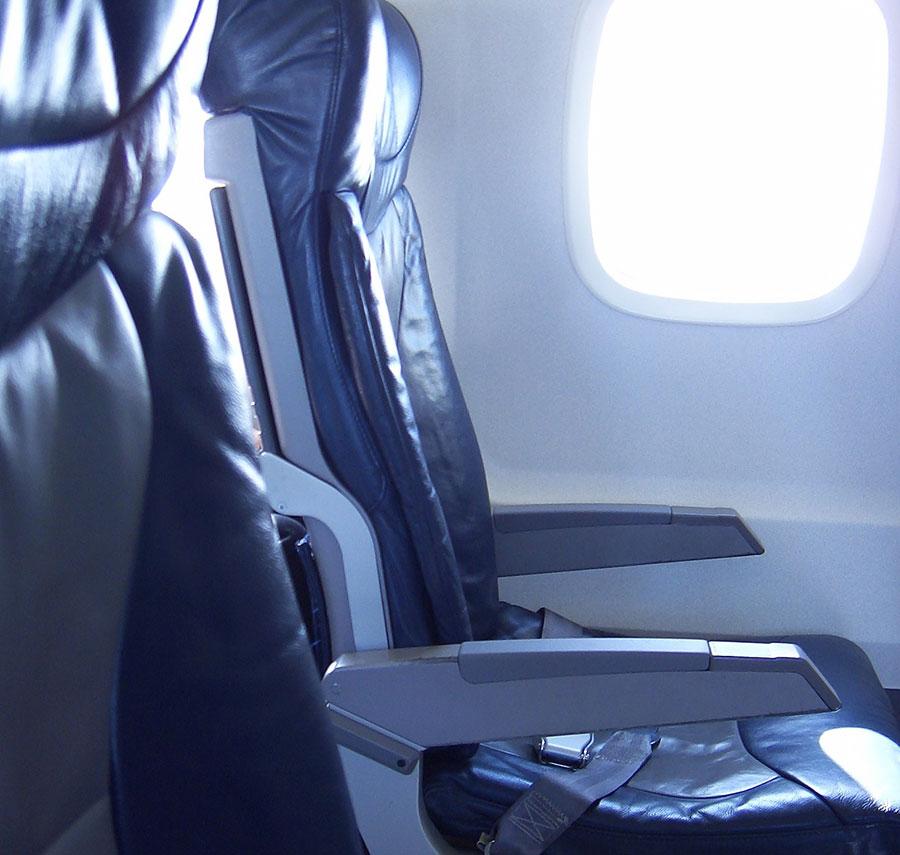 نمای داخلی هواپیما ترکیه