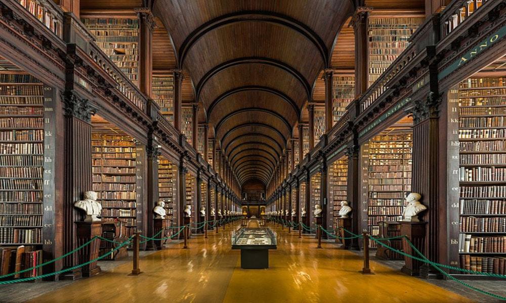 زیباترین کتابخانه های عمومی جهان-کتابخانه دوبلین