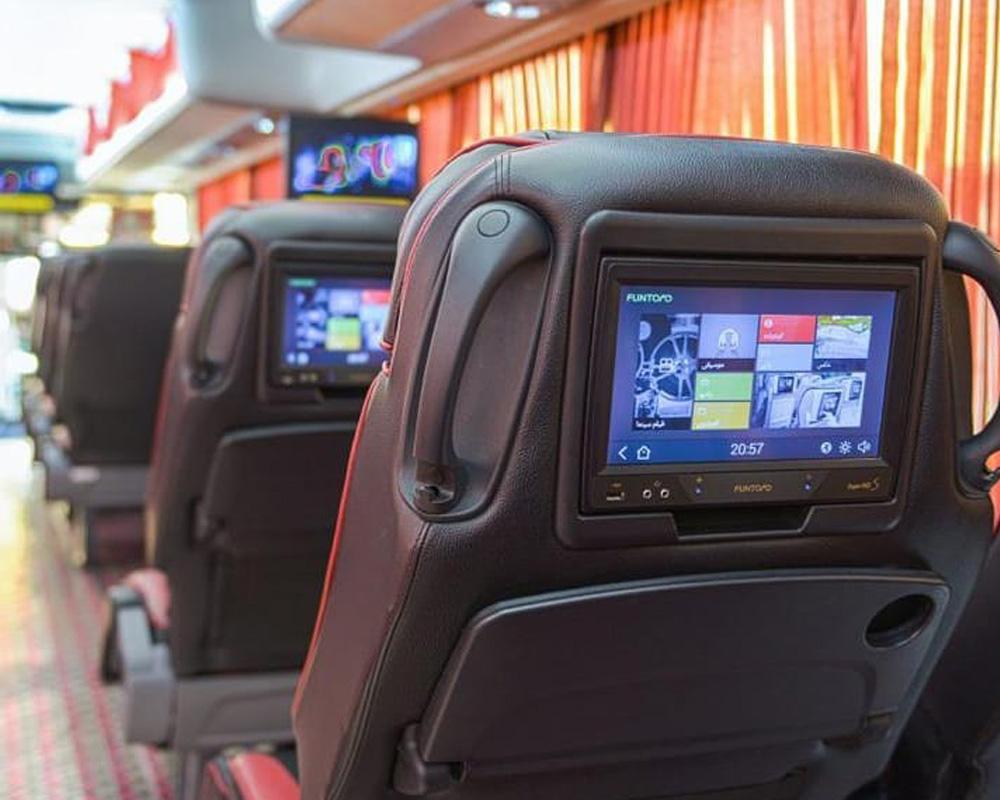 صندلی اتوبوس های وی آی پی