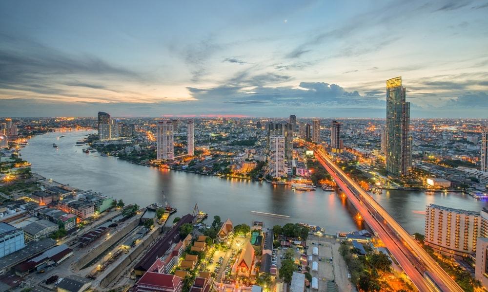 نمایی از شهر بانکوک