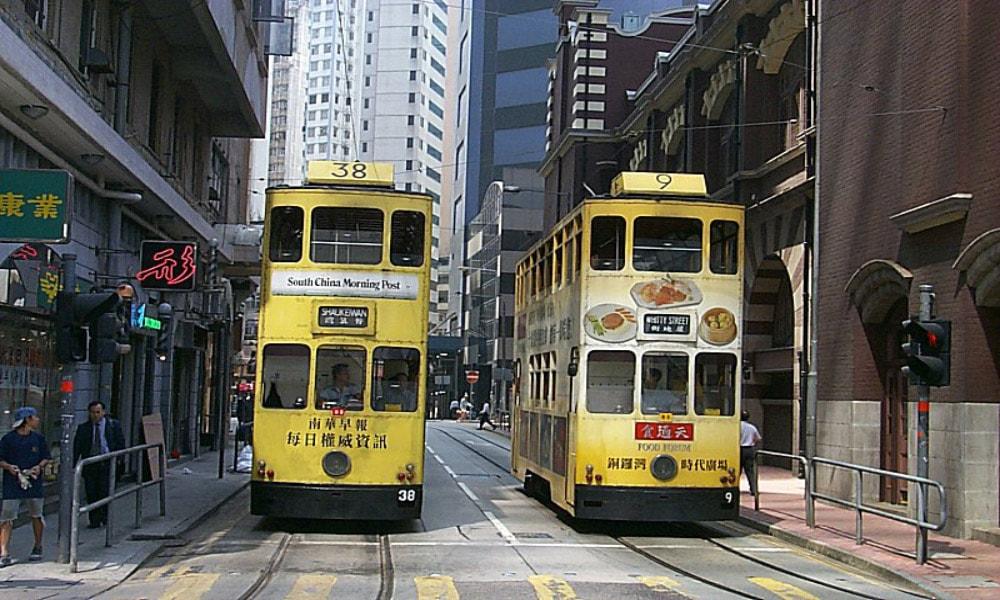 آشنایی با تراموا، تراموای هنگ کنگ