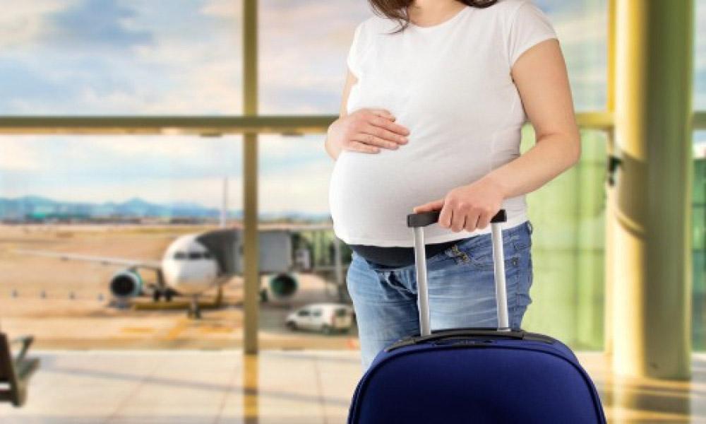 توصیه های پروازی برای خانم های باردار