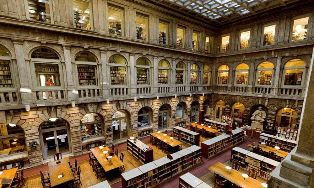 زیباترین کتابخانه های عمومی جهان-کتابخانه مارسیانا ونیز