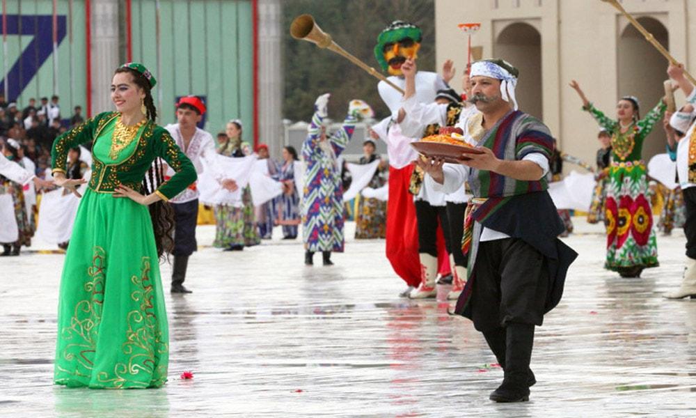 نوروز در تاجیکستان-عروس بهار