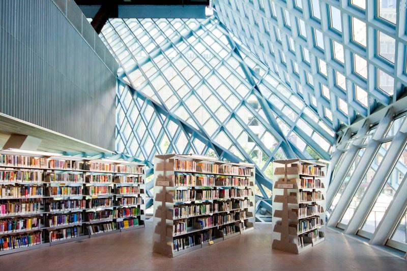 زیباترین کتابخانه های عمومی جهان-کتابخانه عمومی سیاتل