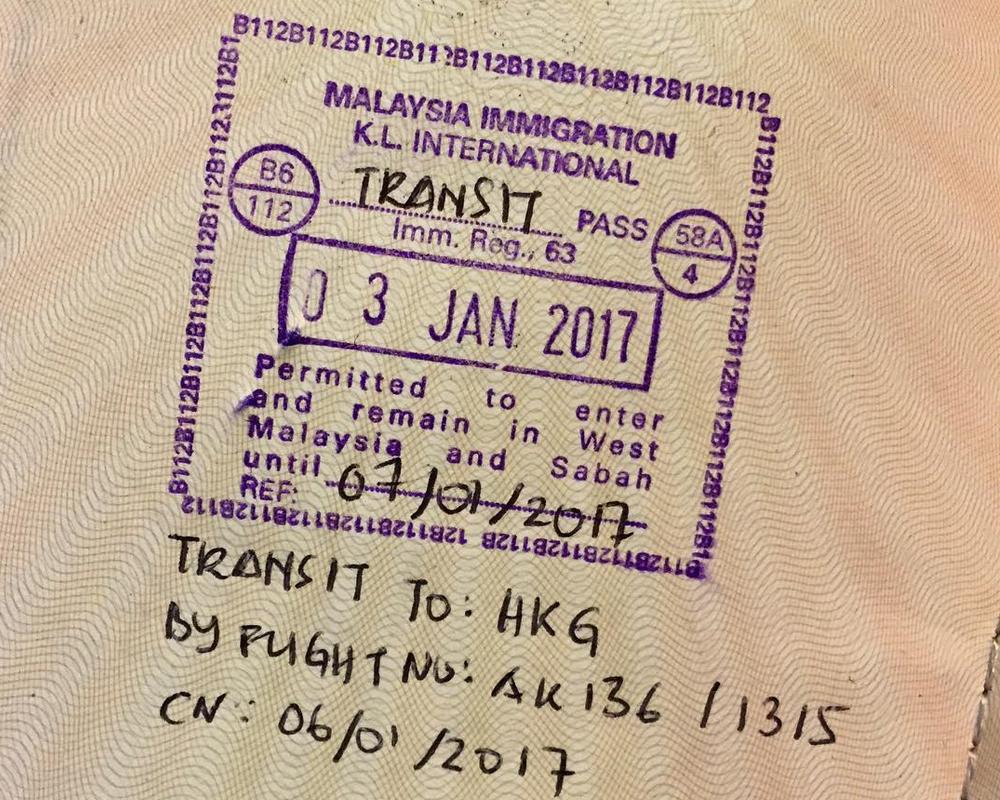 ویزای ترانزیت