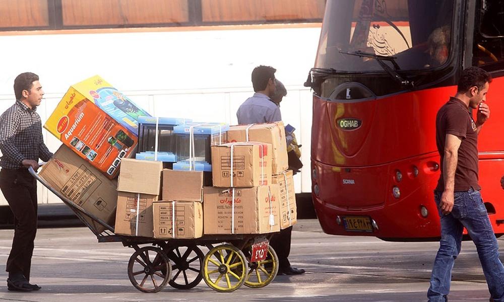 حمل بار تجاری با اتوبوس