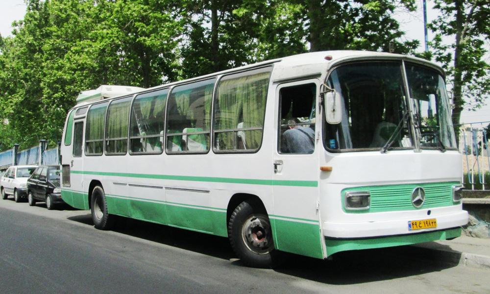 اتوبوس های 0302 مرسدس بنز ایران خودرو