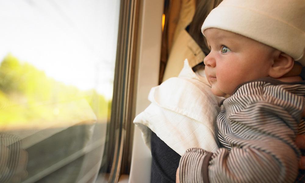تعرفه بلیط قطار برای نوزادان