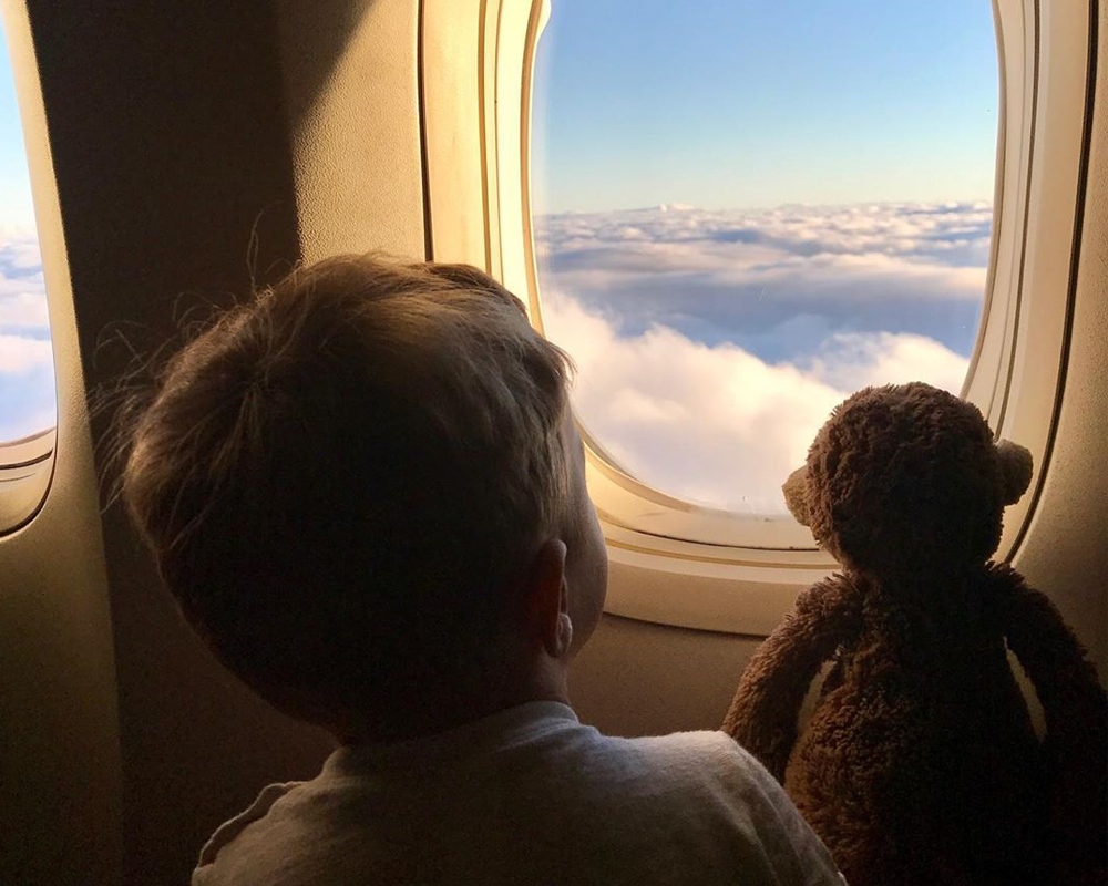 سفر هوایی با نوزاد