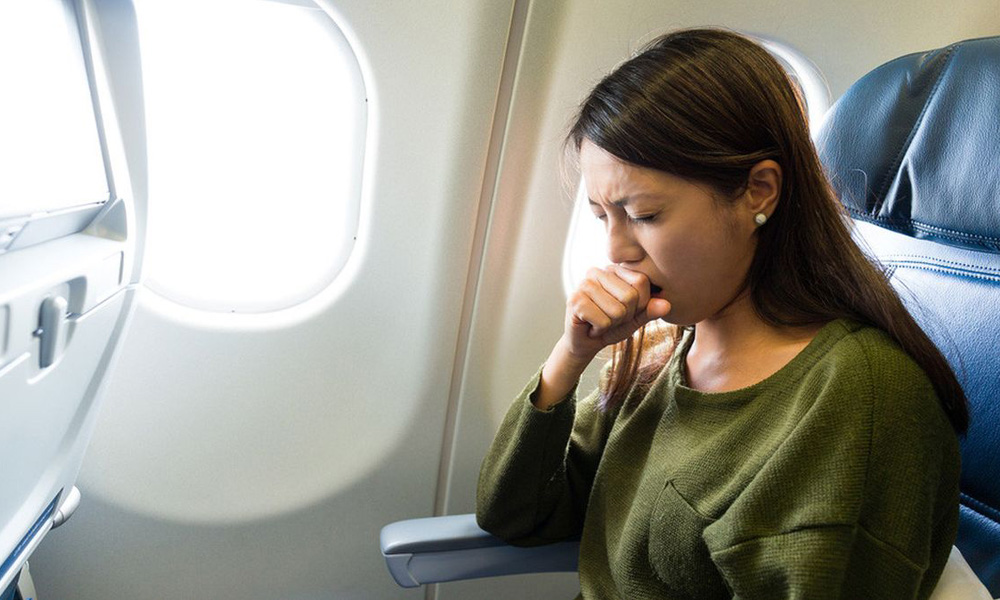 بیماران در هواپیما