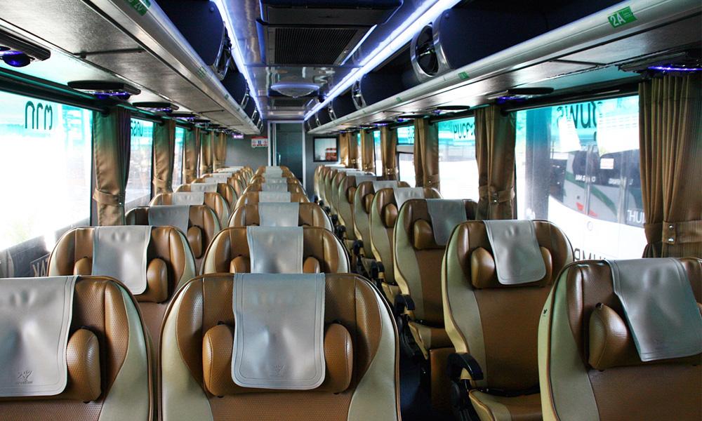 صندلی های تک در اتوبوس های وی آی پی