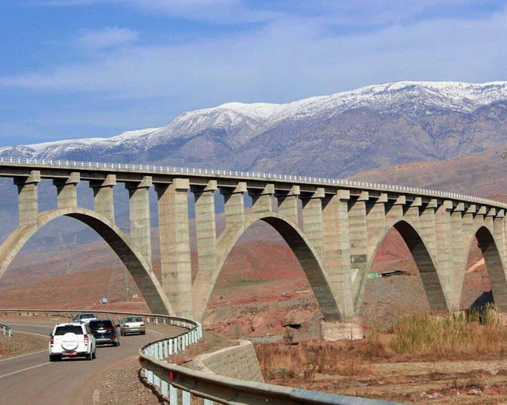 مسیر ریلی قزوین رشت