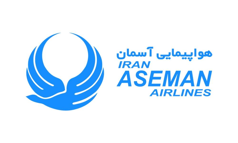 لوگوی شرکت هواپیمایی آسمان