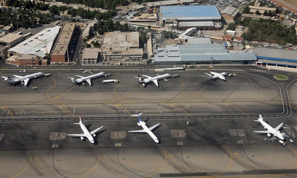 فرودگاه مهرآباد قطب هواپیمایی آسمان