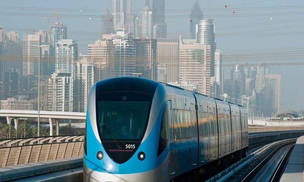 بهترین سیستم های قطار شهری در جهان، مترو دوبی