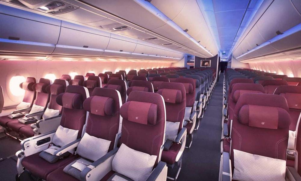 اکونومی کلاس هواپیمایی قطر