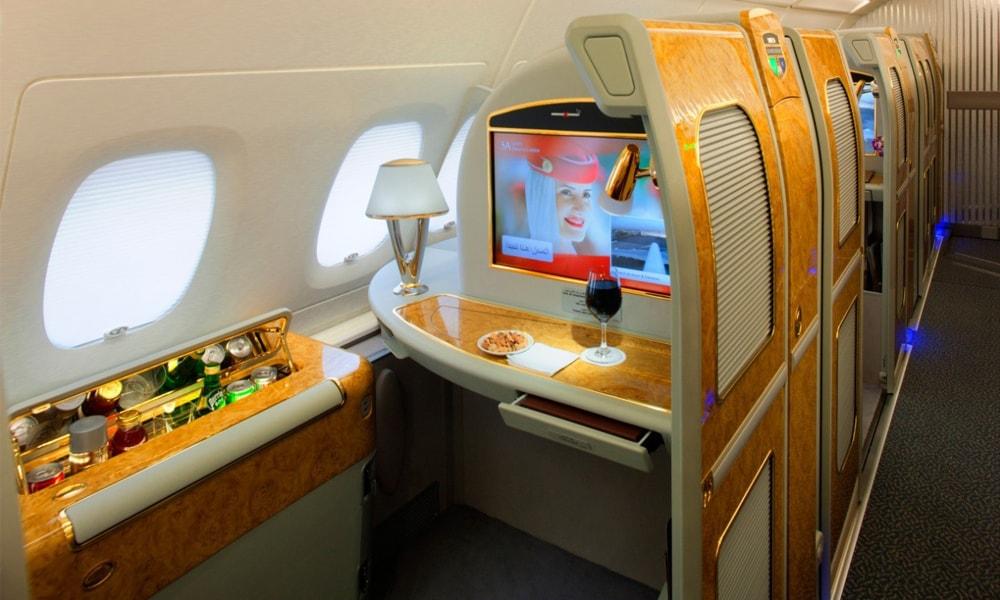 کلاسهای پروازی امارات ایر
