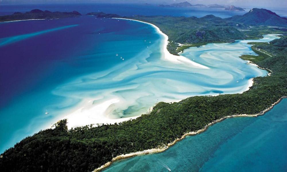 آرامش خاطر از پس ماسه های نرم زیباترین سواحل جهان
