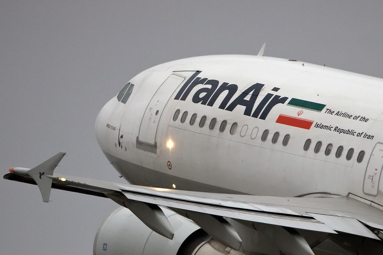 هواپیمای iranair