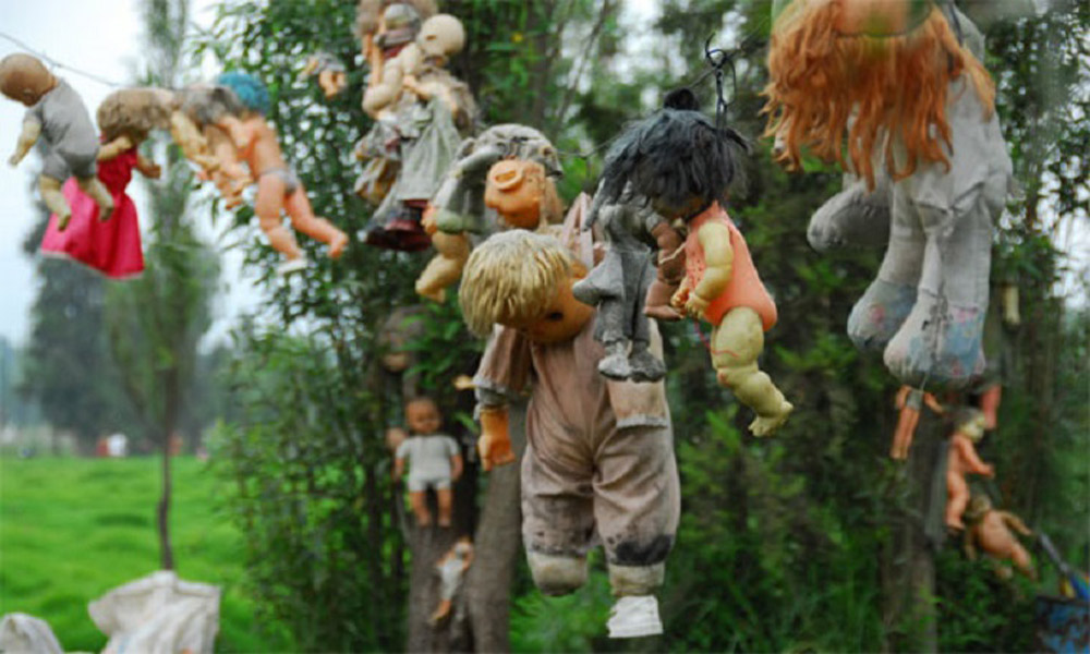 از جزیره عروسک ها تا خانه وارونه؛ جاذبه های گردشگری مدرن