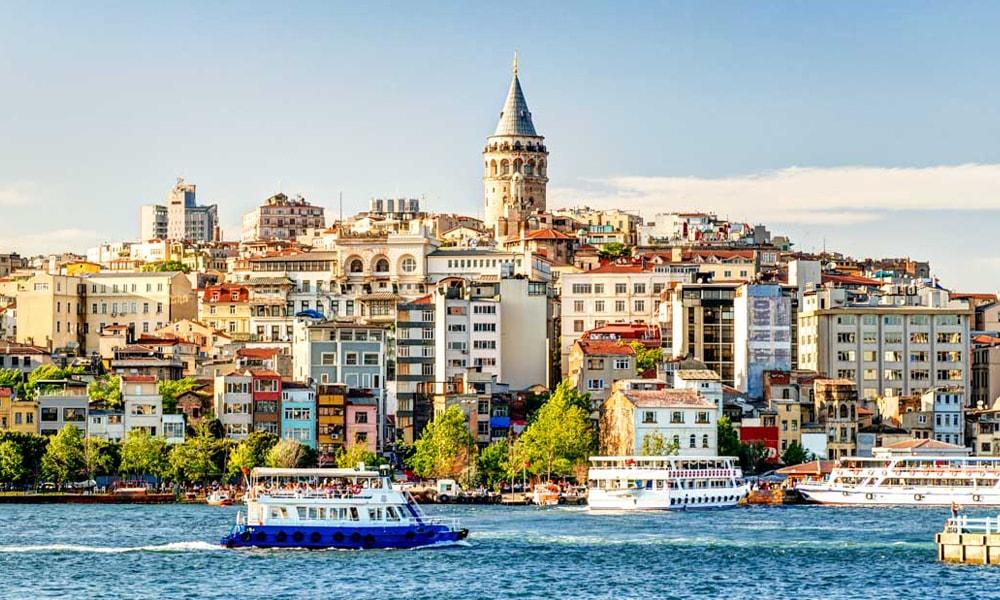 نمایی از شهر استانبول