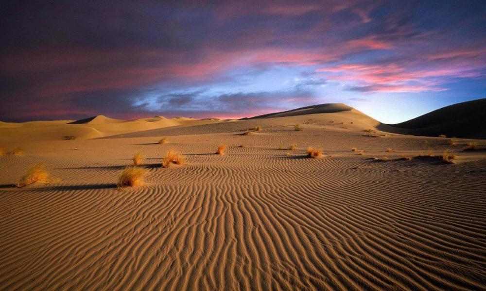 کویر مرنجاب از جمله بهترین مناطق ایران برای کویر گردی