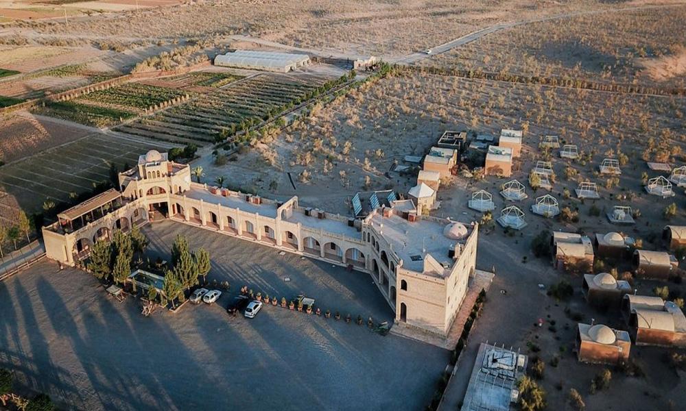 کمپ کویری متین آباد از جمله بهترین مناطق ایران برای کویر گردی