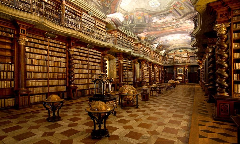 زیباترین کتابخانه های عمومی جهان-کتابخانه پراگ