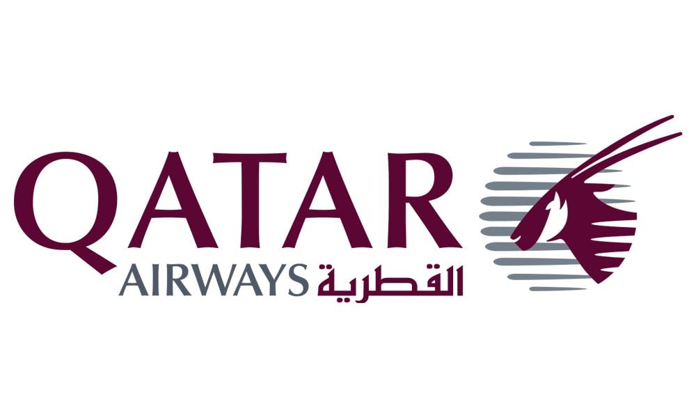 لوگوی شرکت هواپیمایی قطر