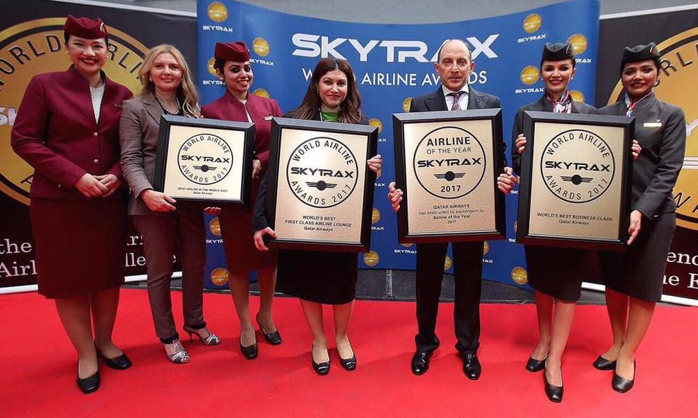 جوایز بین المللی قطر ایرویز