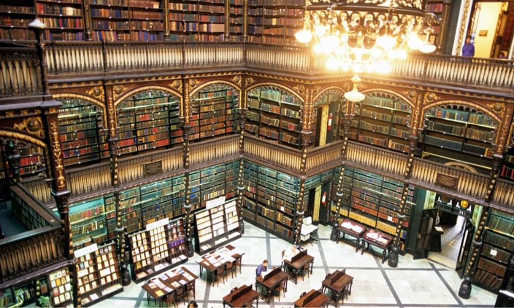 زیباترین کتابخانه های عمومی جهان-کتابخانه ریودوژانیرو