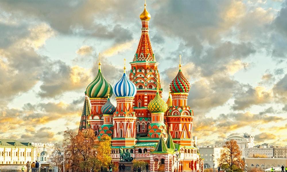 روسیه و جاذبه های گردشگری تور مسکو