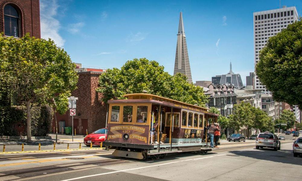 آشنایی با تراموا، تراموای سان فرانسیسکو