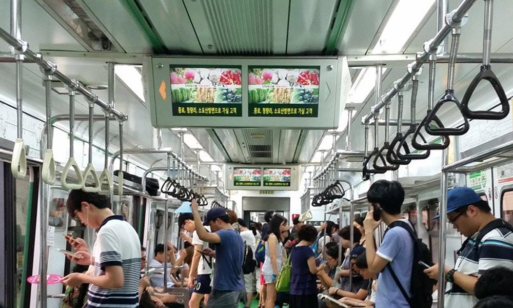 بهترین سیستم های قطار شهری در جهان، مترو سئول
