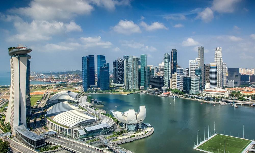 نمایی از شهر سنگاپور