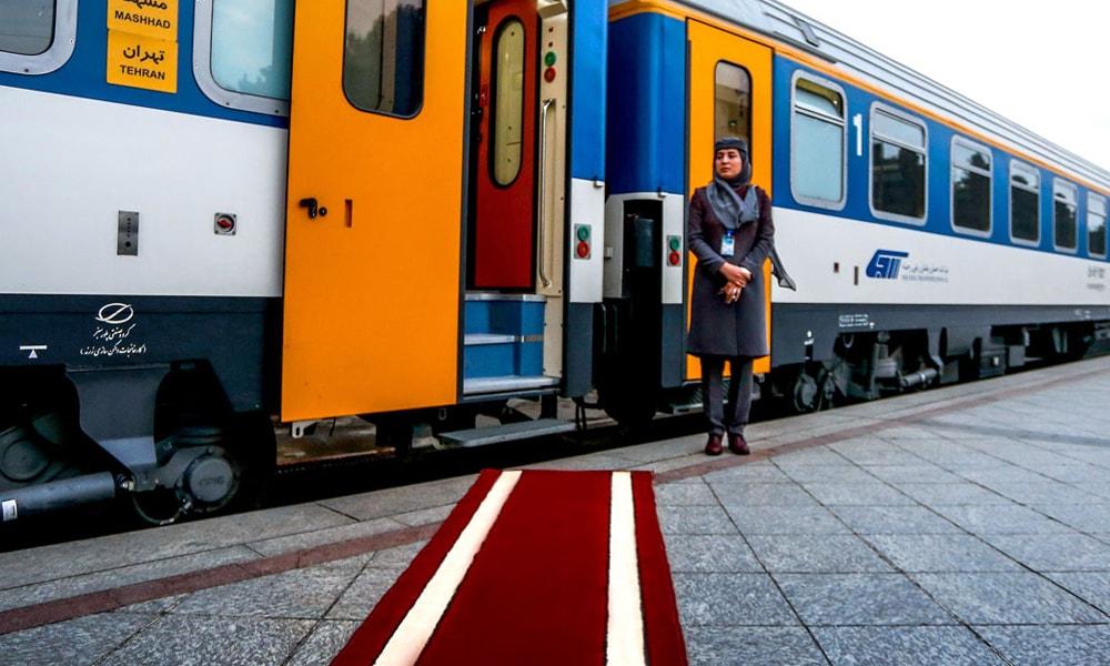 بلیط قطار تهران مشهد