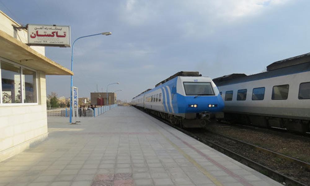 ایستگاه قطار تاکستان
