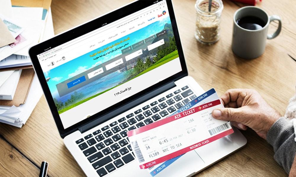 راهنمای رزرو آنلاین بلیط هواپیما در قاصدک 24