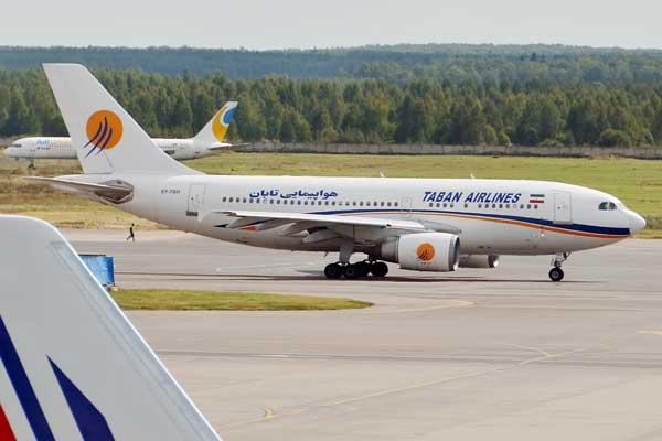 هواپیمای ایرلاین تابان