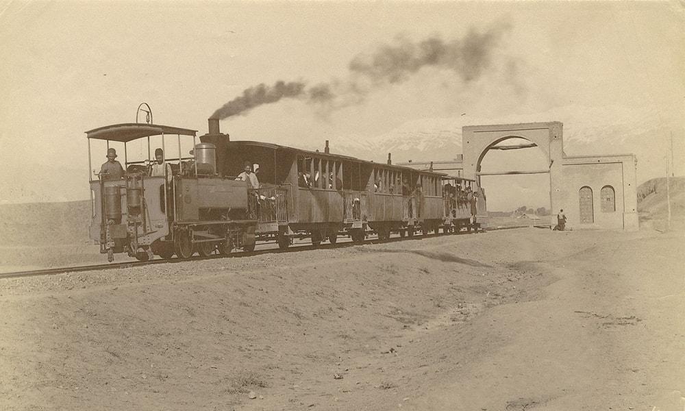 قطارهای اولیه در ایران