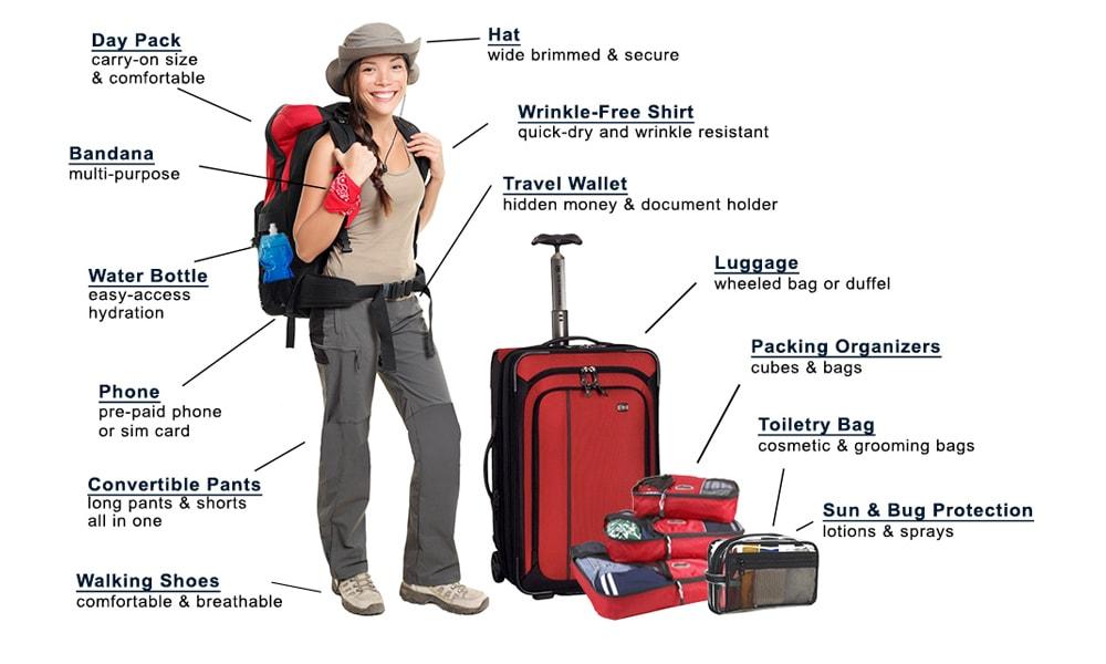 تجهیزات ضروری در سفر