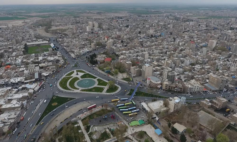 نمایی از شهر ورامین
