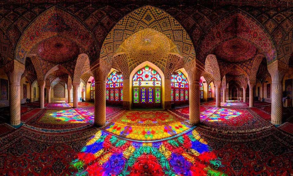 بلیط قطار شیراز-مسجد نصیرالملک شیراز