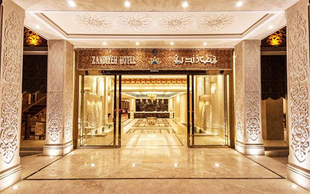 مجلل ترین هتل های ایران- هتل زندیه شیراز