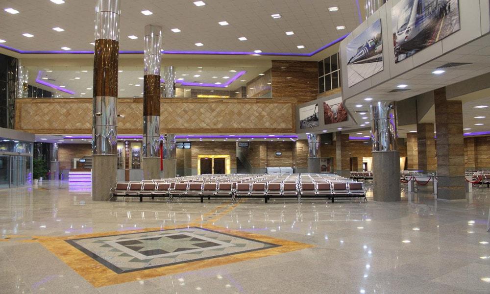 ایستگاه قطار زنجان